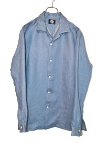 NOiSECRAFT/Linen Denim Shirt